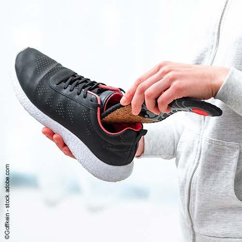 Einlegesohlen sorgen für wärmere Füße im Winter, ein besseres Fußklima und helfen bei orthopädischen Problemen