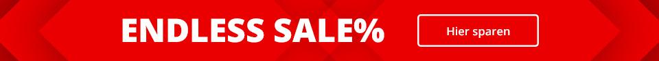 ENDLESS SALE: Sandalen, Pantoletten, Sneaker, Sportschuhe uvm.