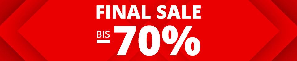 Final SALE bis -70%: Sandalen, Pantoletten, Sneaker, Sportschuhe uvm.