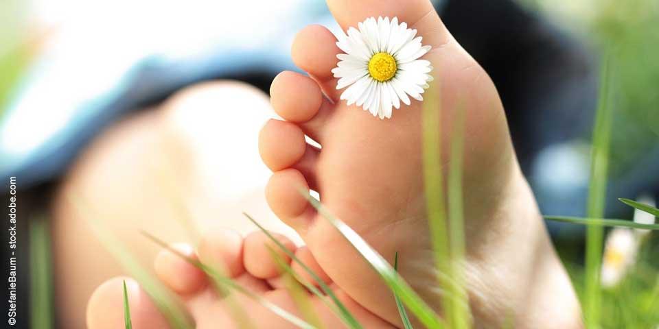 Fußgesundheit: 6 Tipps für fitte Füße