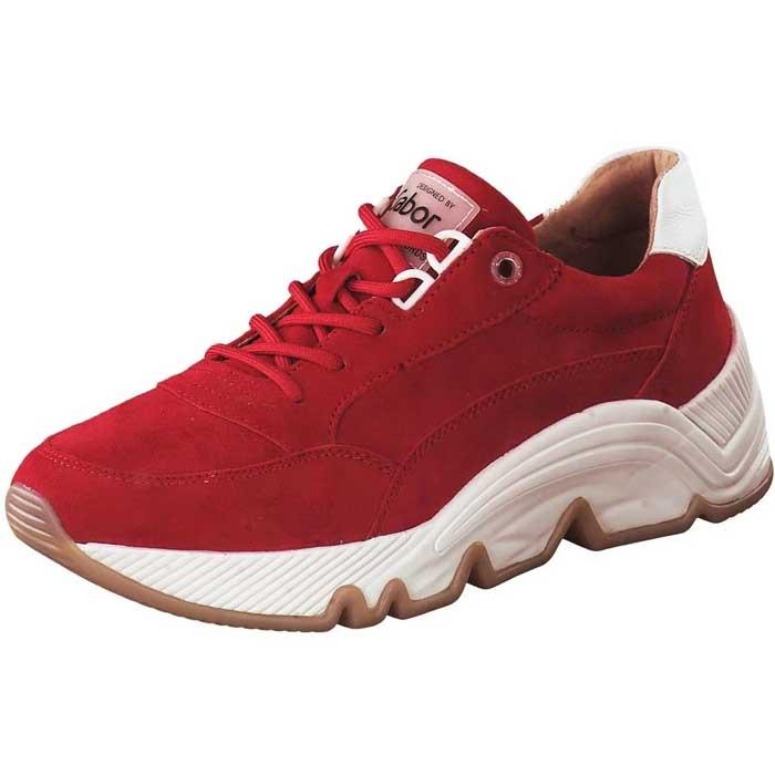 Gabor Chunky Sneaker rot