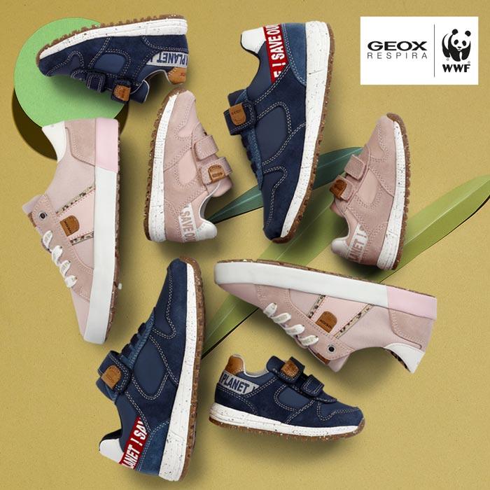 Nachhaltige Geox WWF Kinderschuhe