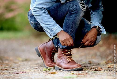 Rutschende Schuhe? Das muss nicht sein!