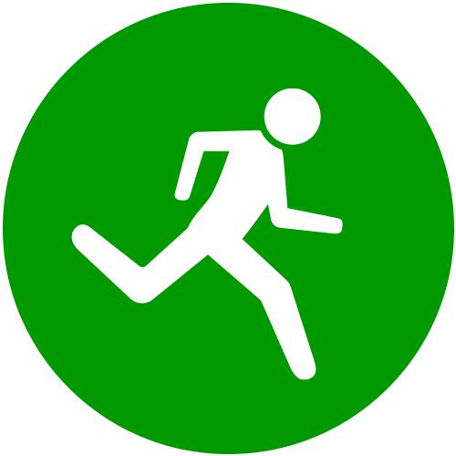 Ich laufe 1-2x pro Woche kurze Strecken bis 5km