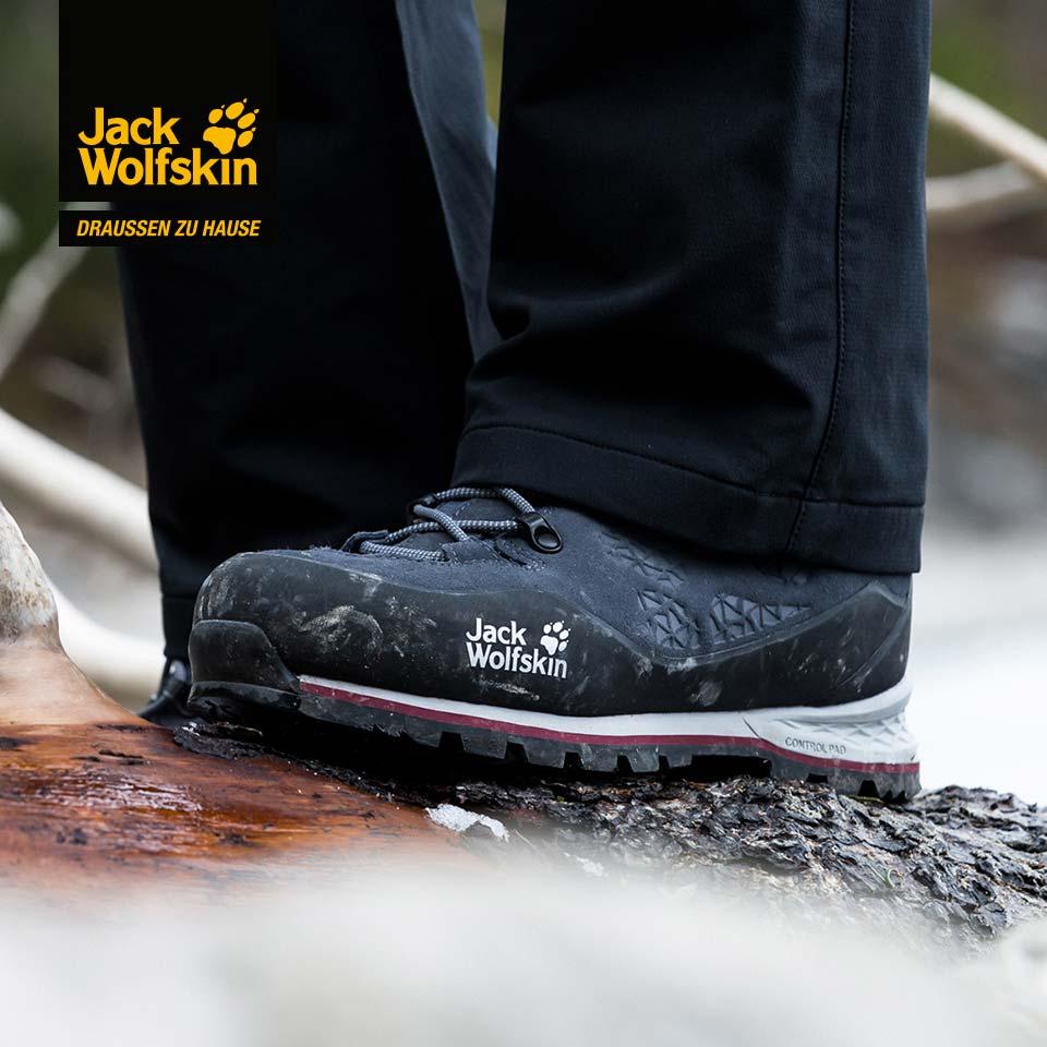 Jack Wolfskin Outdoorschuhe zum Wandern und für die Freizeit