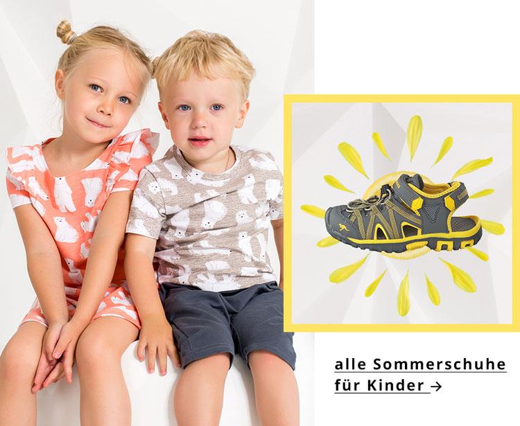 Aktuelle Trends ✓ Sandalen ☼ Pantoletten & Sneaker ➽ Sommerschuhe für Kinder jetzt günstig kaufen ✅.