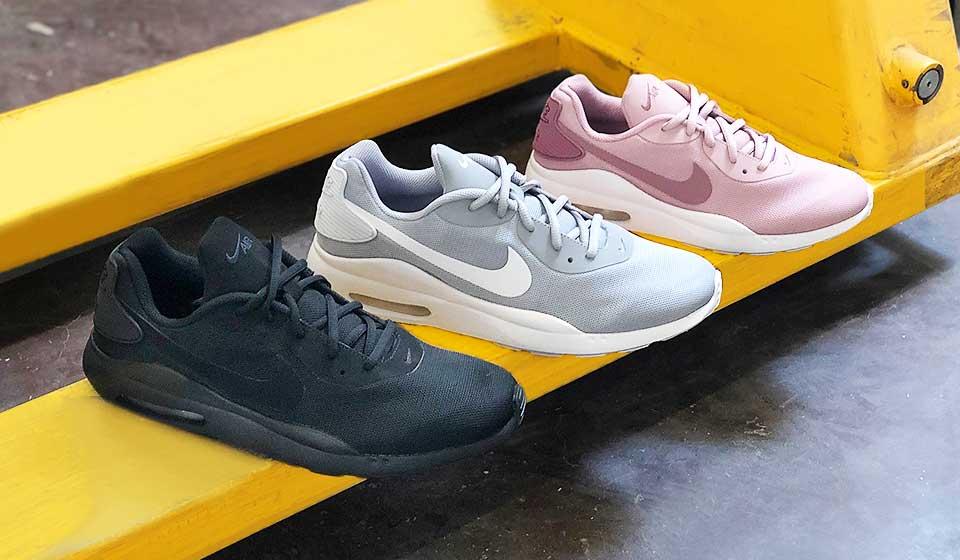 Nike Air Max - Optimale Dämpfung dank legendärem Air Pad und coole farbliche Akzente