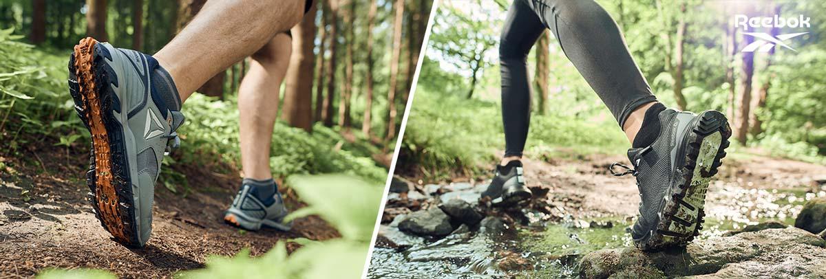 Reebok Walking Outdoorschuhe mit strapazierfähigen Oberflächen