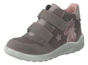 Ricosta Fanny Sneaker - Klettschuh aus Leder mit stoßfester Vorderkappe und wasserabweisender Oberfläche
