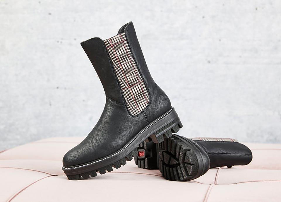 Rieker Damen Damen Chelsea Boots Herbst/Winter 2021