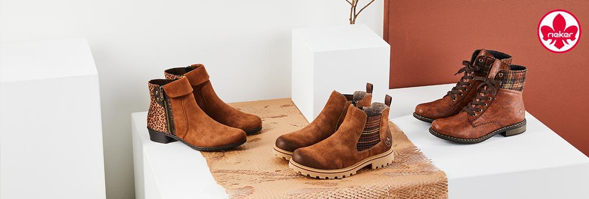 Rieker Stiefeletten, Sneakers, Halbschuhe, Slippers uvm. jetzt günstig online bei Siemes Schuhcenter kaufen