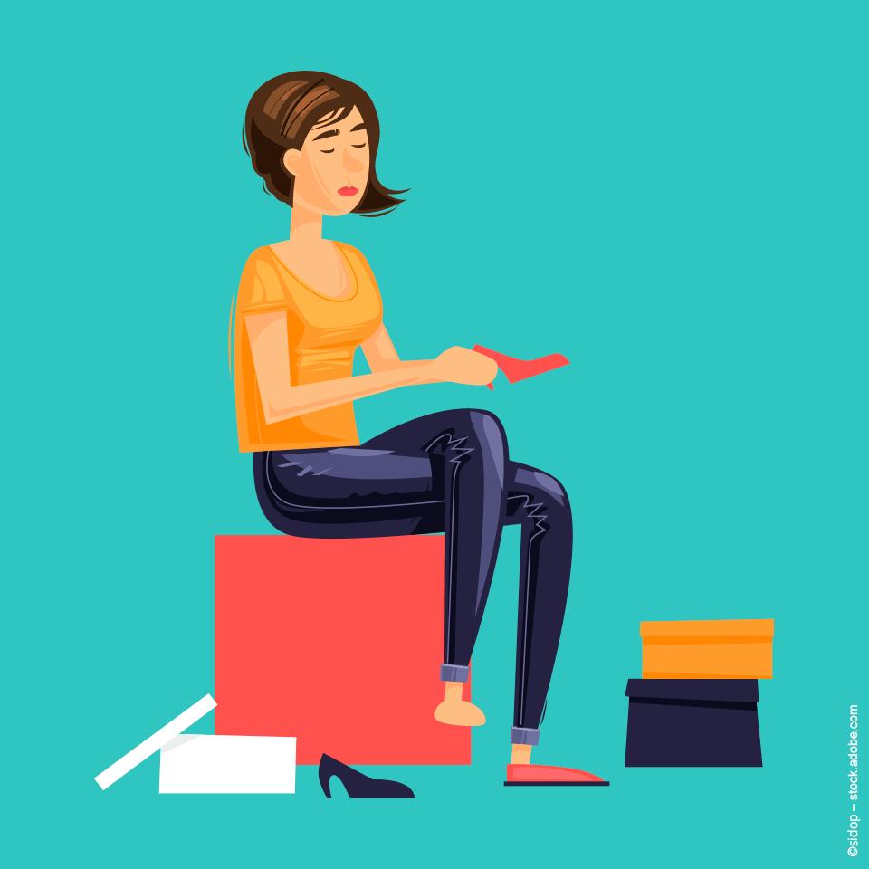 Schuhe auf Rechnung online bestellen und Zuhause in Ruhe anprobieren