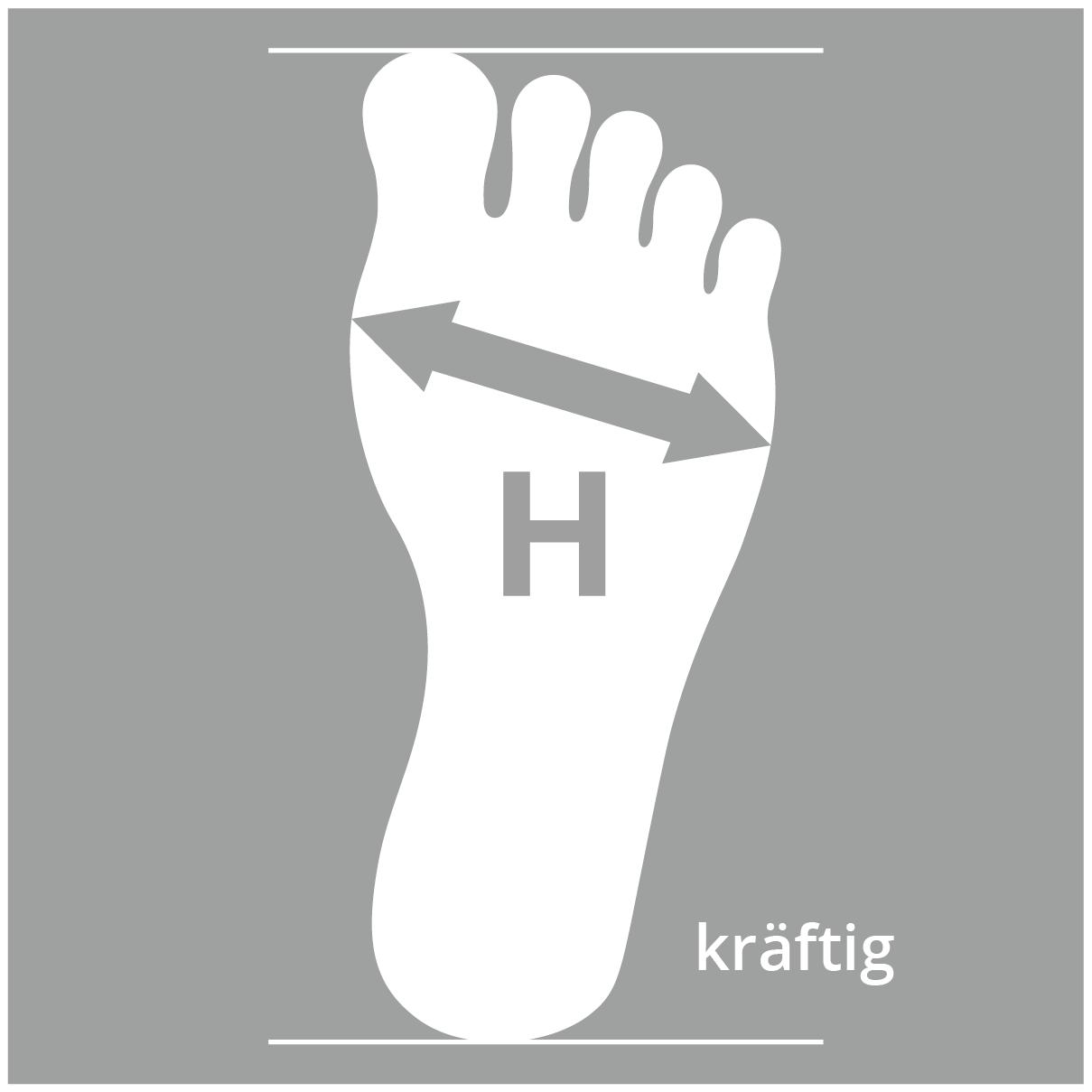 Schuhe mit Schuhweite H für kräftigere Füße