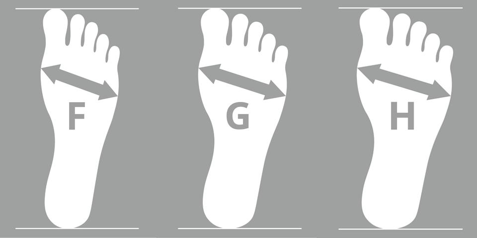 Schuhweiten für Damenschuhe: Darauf kommt es an