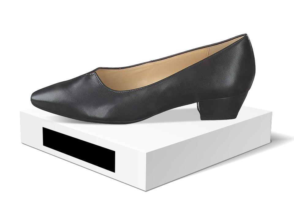 Schuhe in den verschiedensten Farben |