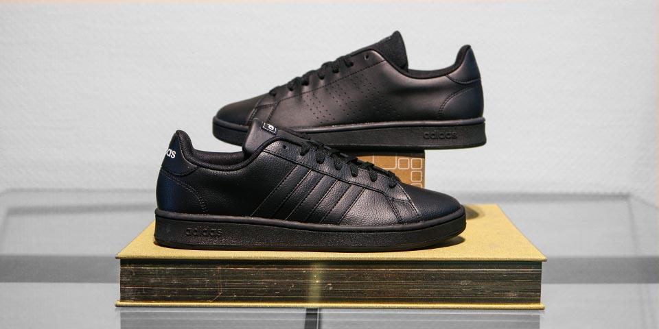 Schwarze Sneaker von adidas uvm.