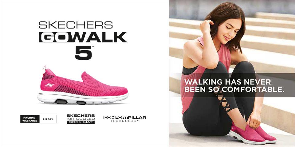 Skechers Go Walk jetzt günstig bei Siemes Schuhcenter online shoppen