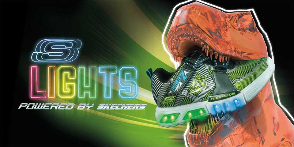 Skechers S-Lights Leuchtsneaker für Kinder jetzt günstig bei Siemes Schuhcenter online shoppen