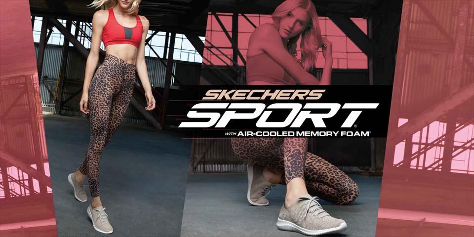 Leichte und komfortable Skechers Damen Sneaker