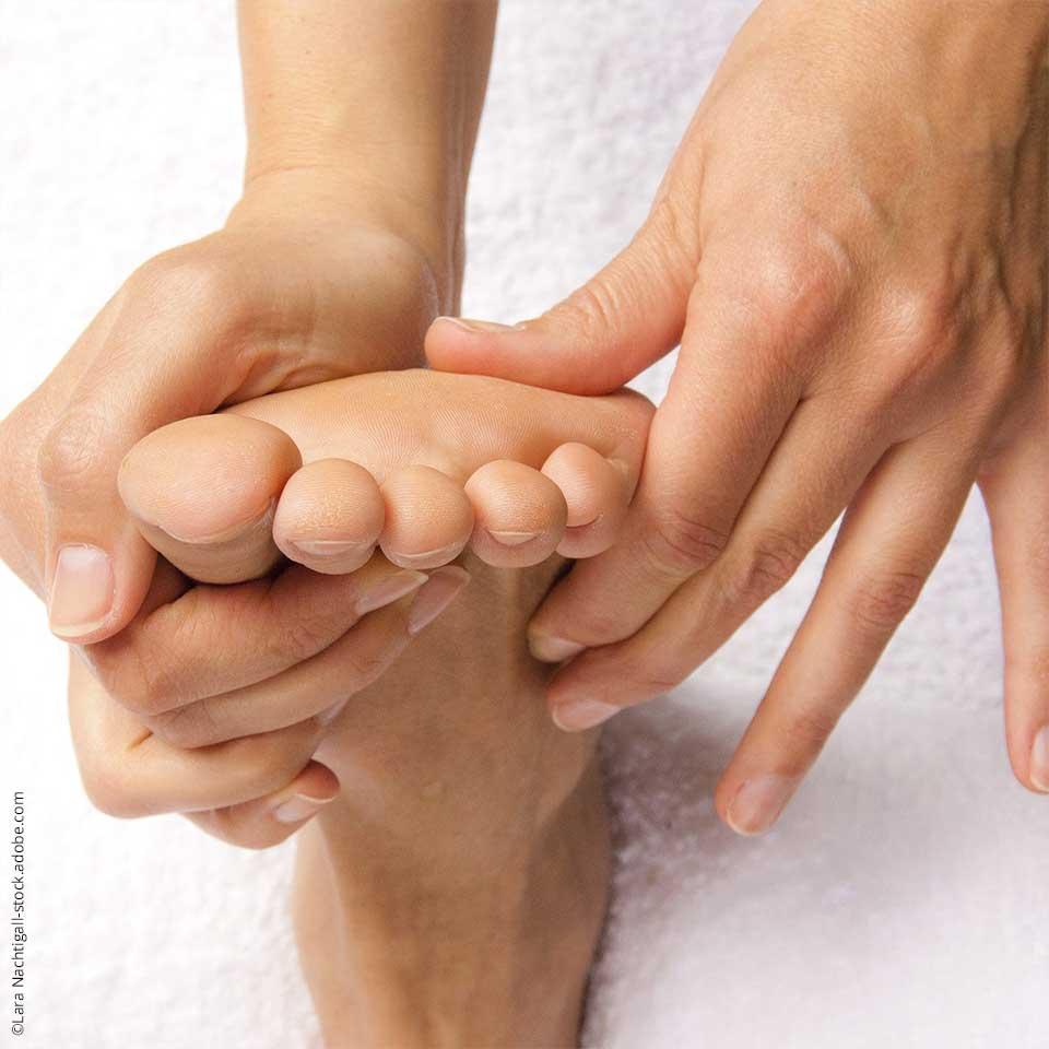 Tipp 1: Fußreflexzonenmassage