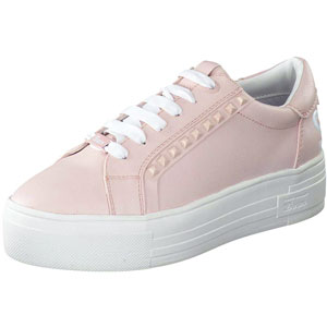 Tom Tailor Plateau Sneaker in rosa