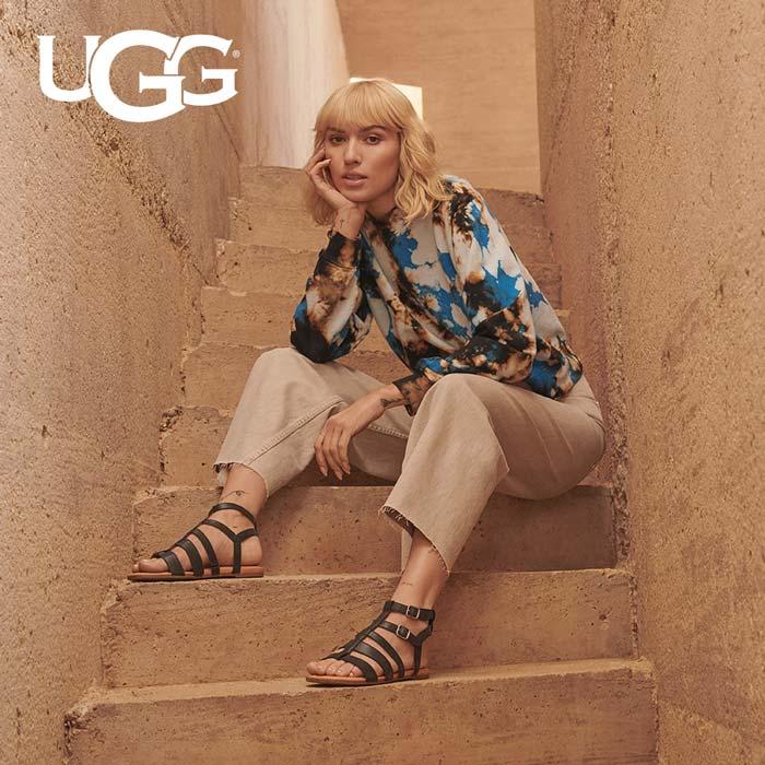 Original UGG Damenschuhe - Hochwertige Sandalen und Pantoletten aus Leder