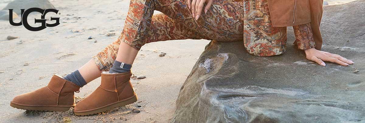 Warme UGG Schuhe mit Lammfellfutter - perfekt für den Winter