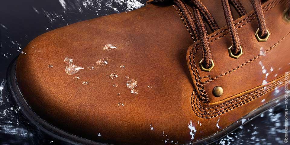 Wasserfeste Schuhe - gut geschützt durch die nassen Tage
