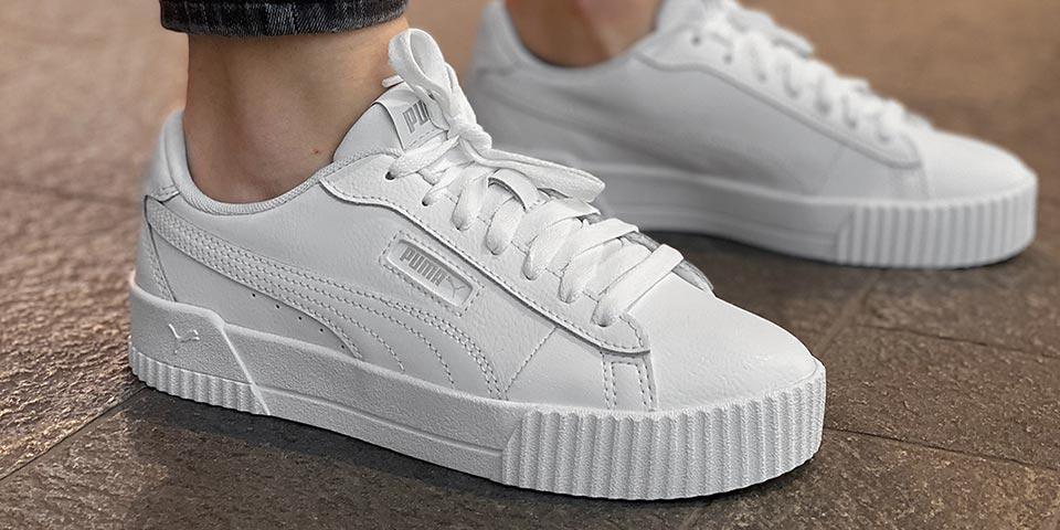 Weisse Sneaker von PUMA uvm.