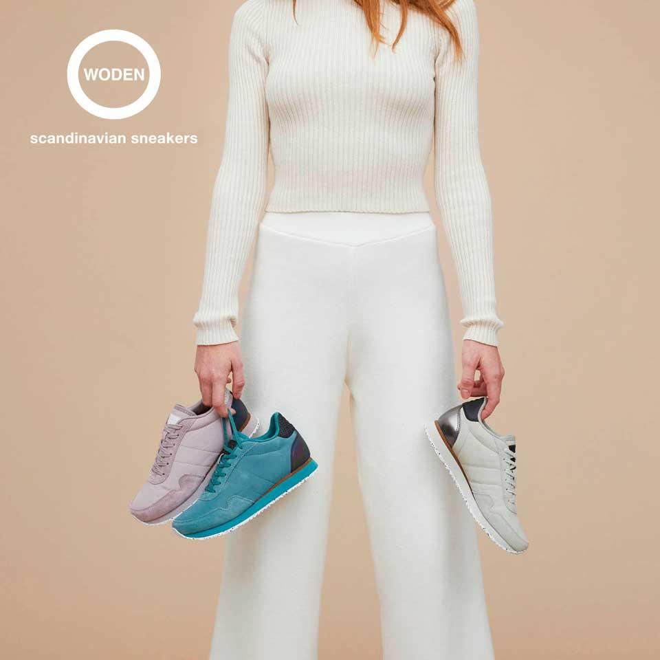 Woden Damenschuhe: Sneaker Kollektion Frühling/Sommer 2021