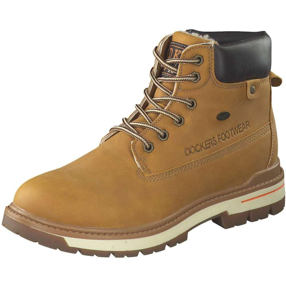 Schnür Boots Dockers Gelb Schnür Schnür Dockers Boots Gelb Dockers 0nmNw8