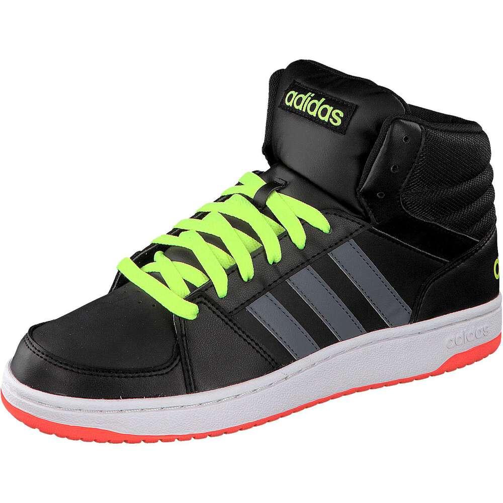 adidas neo herren sneaker hoops vs mid schwarz. Black Bedroom Furniture Sets. Home Design Ideas