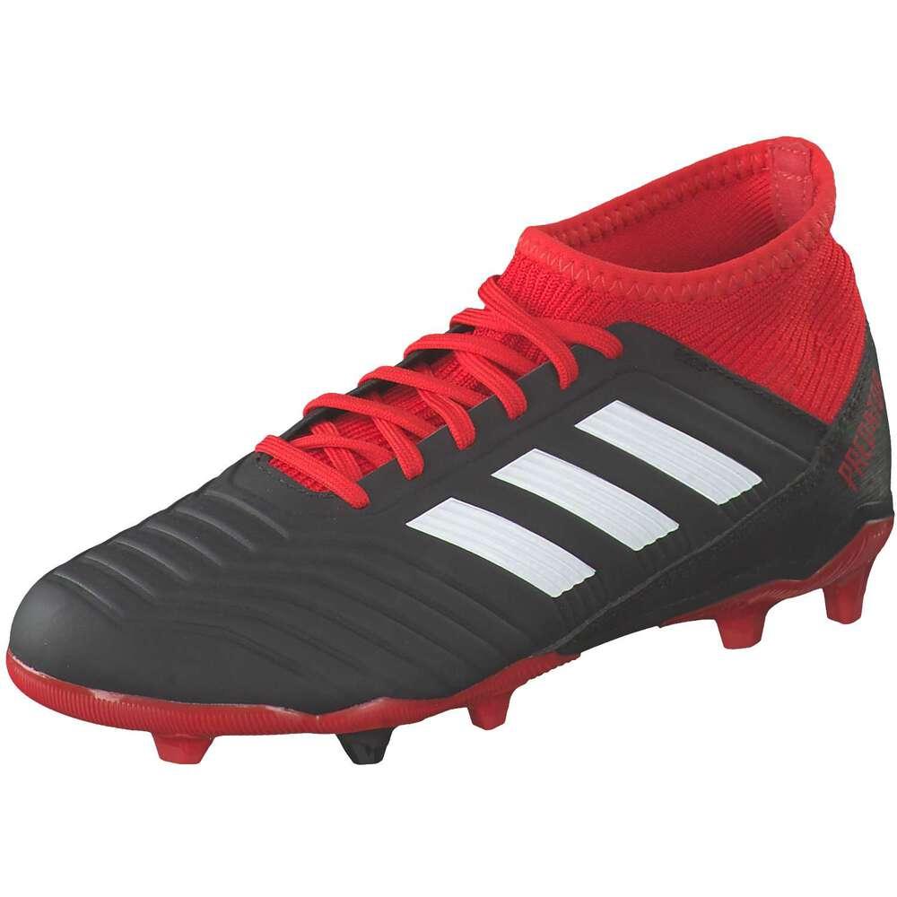 adidas Predator 18.3 FG Jr. Fußball schwarz