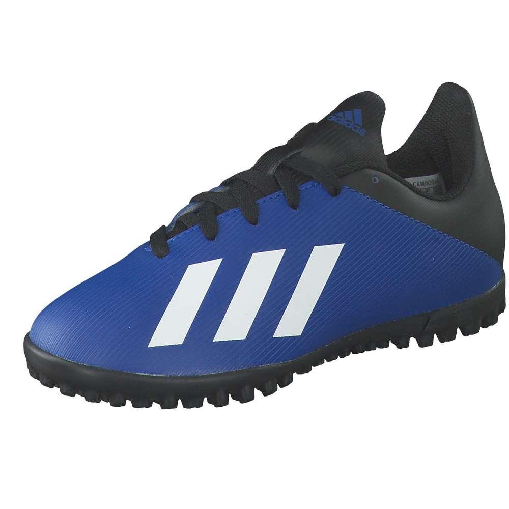 adidas X 19.4 TF J Fußball blau