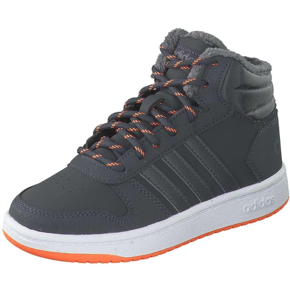 adidas Hoops Mid 2.0 K Sneaker grau |