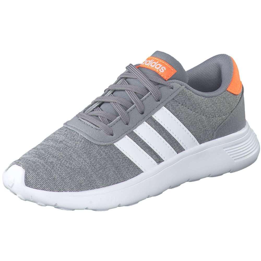 adidas Lite Racer K Sneaker grau  