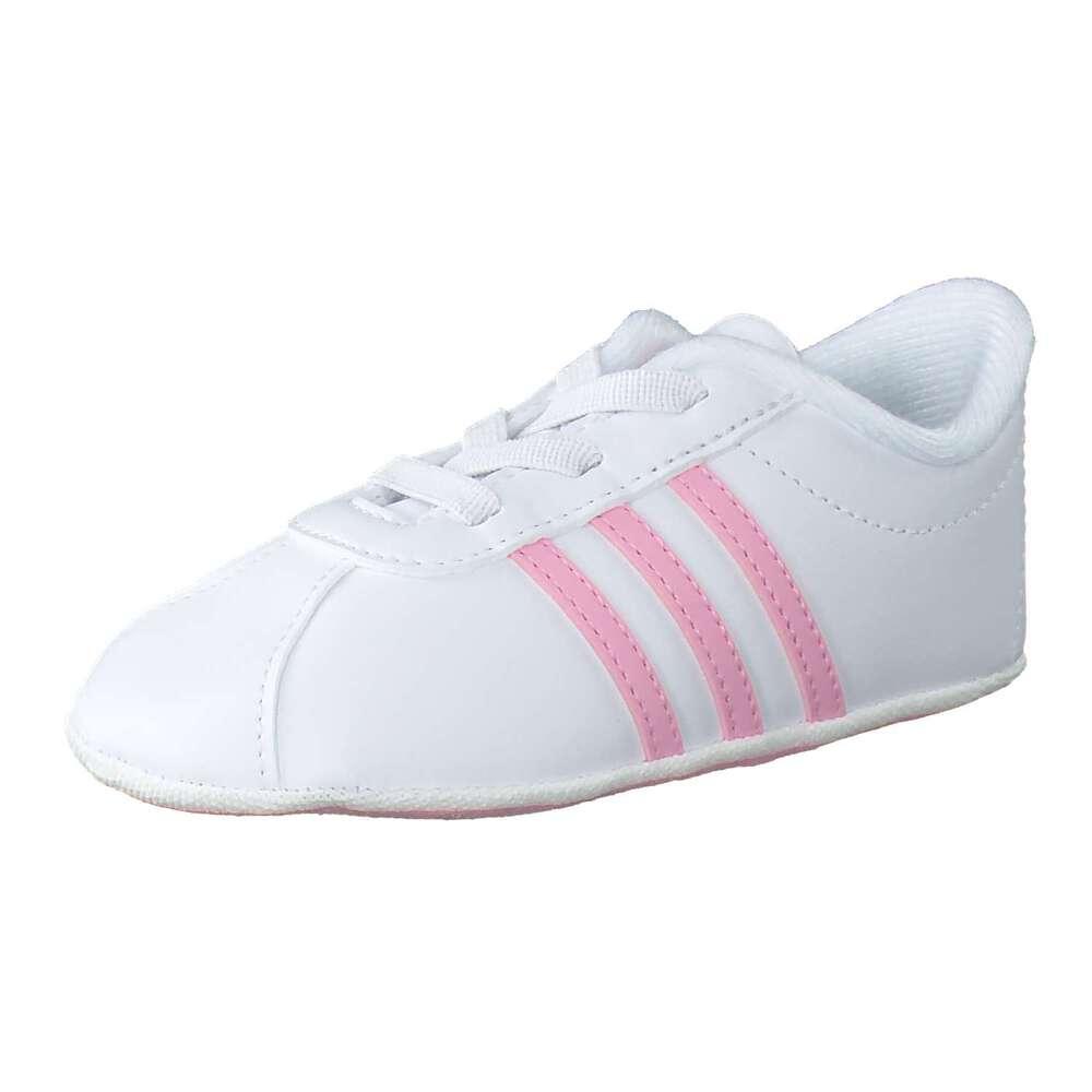 adidas VL Court 2.0 Crib Sneaker weiß  