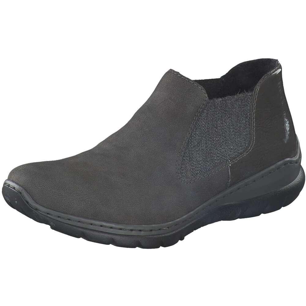 online store e8652 ac7ce Rieker - Chelsea Boots - grau | Schuhcenter.de