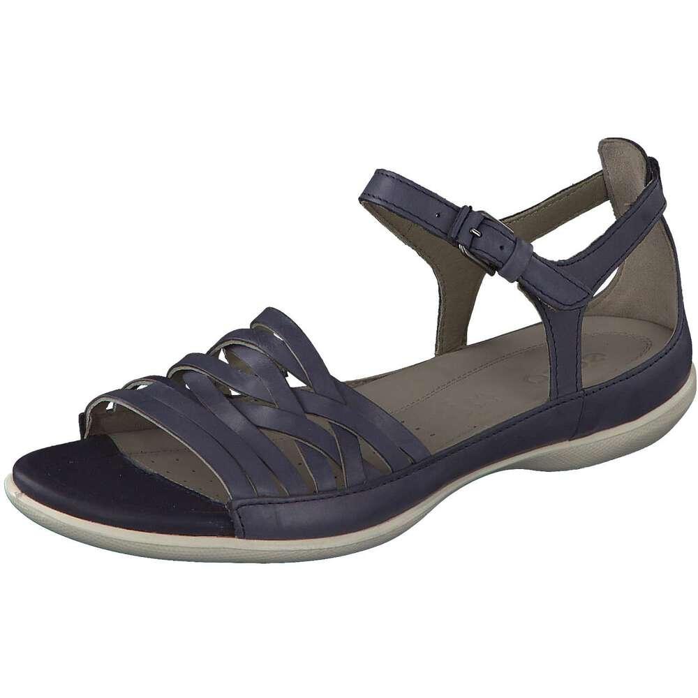 ecco damen flash sandale in blau reduziert bei. Black Bedroom Furniture Sets. Home Design Ideas