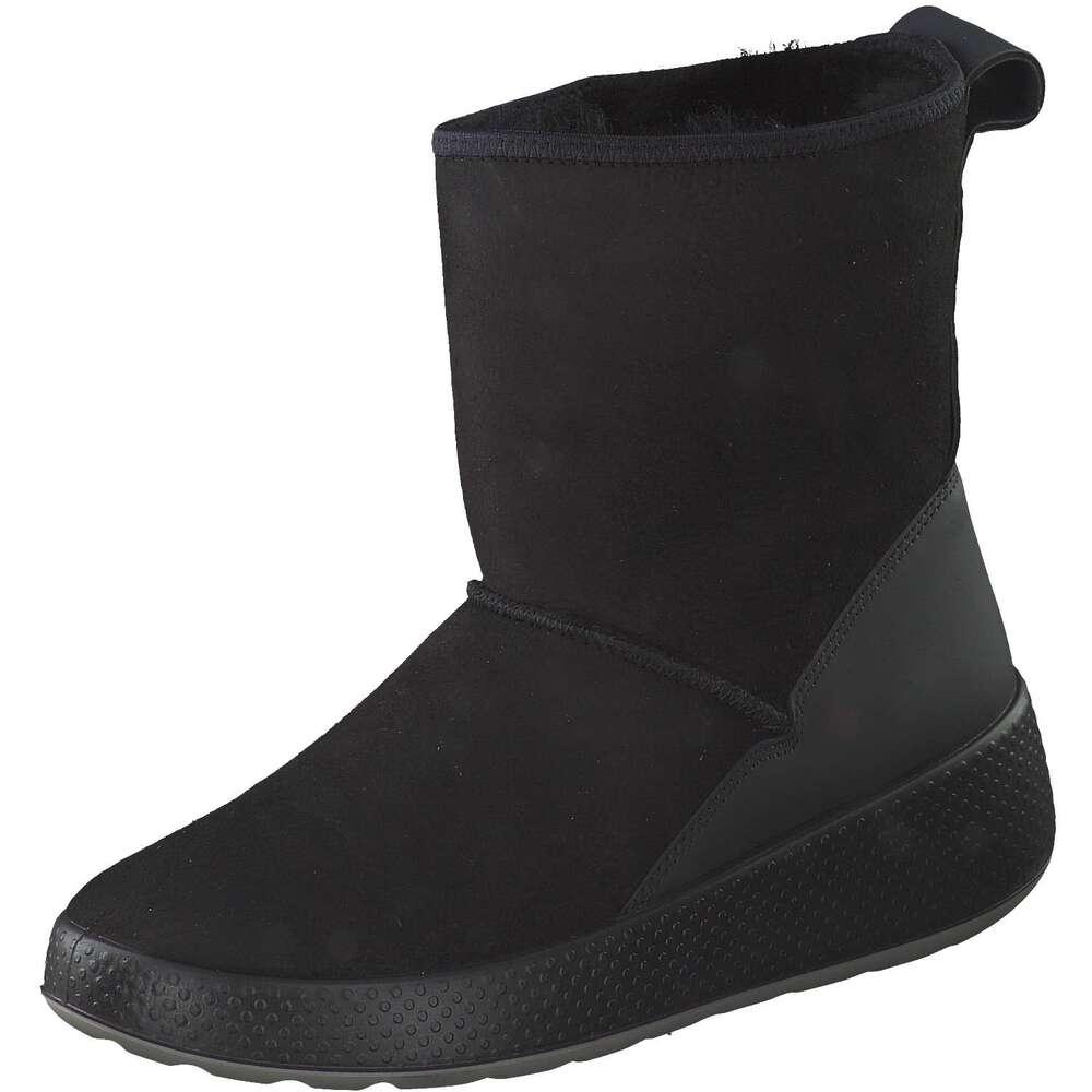 ecco damen ukiuk winter boots in schwarz g nstig bei. Black Bedroom Furniture Sets. Home Design Ideas