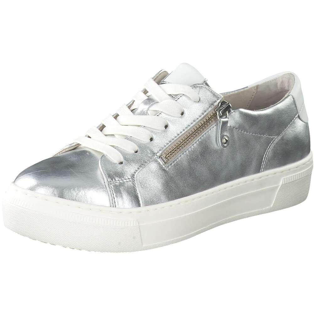 Gabor Silber Gabor Sneaker Plateau Silber Sneaker Plateau