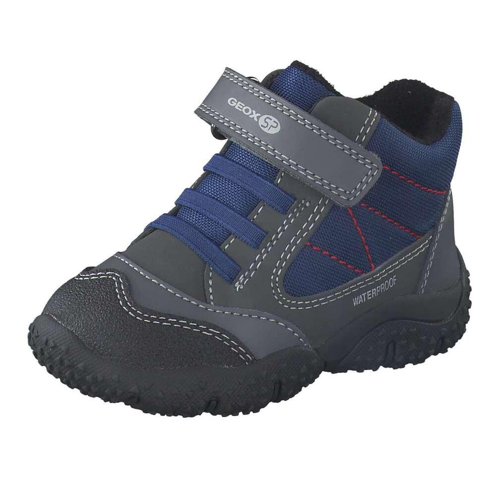 spätester Verkauf exzellente Qualität Geschäft Geox - B Baltic Boy WPF Klett Boots - grau | Schuhcenter.de