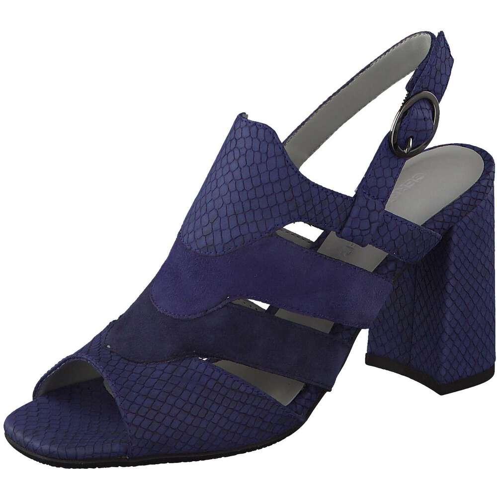 gerry weber damen tatjana 04 sandale in blau reduziert bei. Black Bedroom Furniture Sets. Home Design Ideas