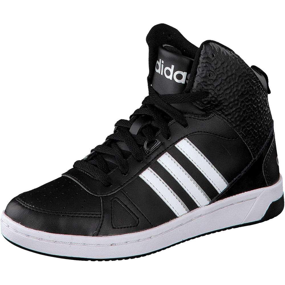 adidas neo damen sneaker hoops team mid w schwarz. Black Bedroom Furniture Sets. Home Design Ideas