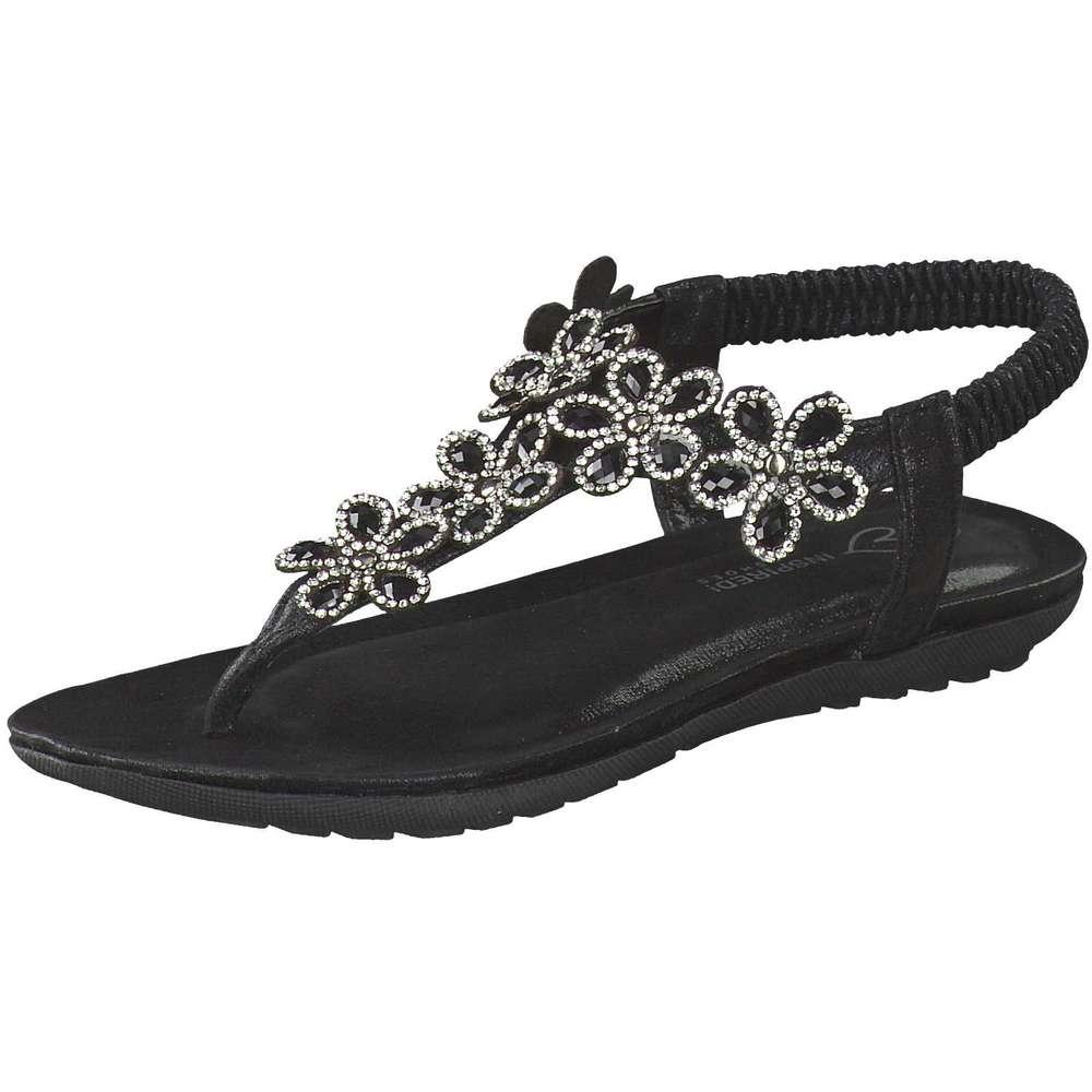 Inspired Shoes Zehentrenner schwarz
