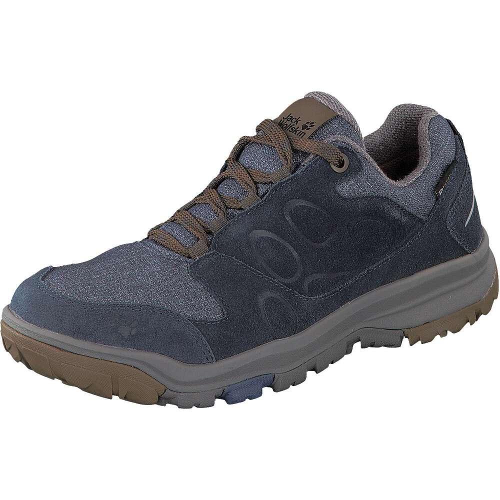 9276c2a1 Jack Wolfskin Schuhe Vancouver Texapore Low M blau -Schuhcenter.de