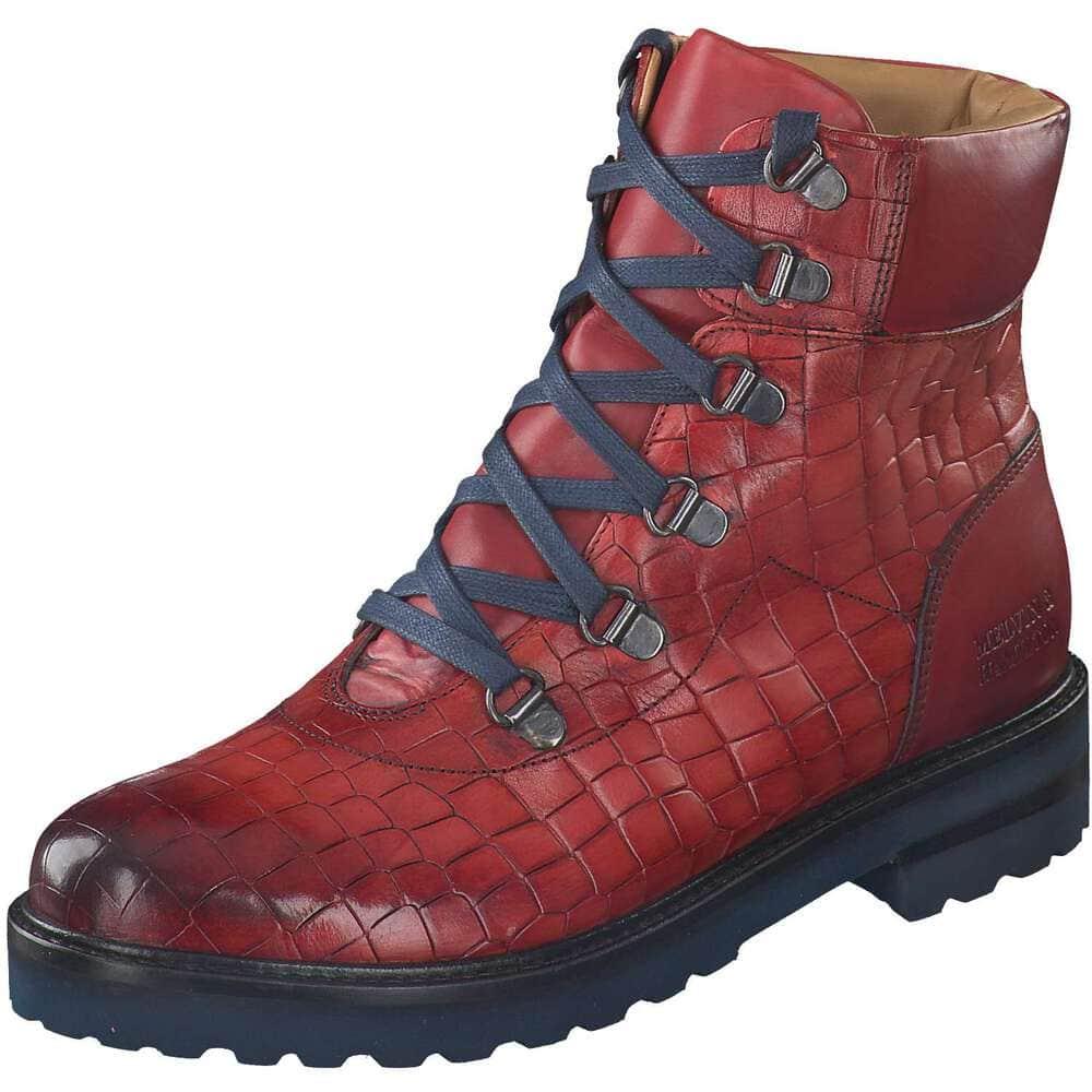Melvin & Hamilton Schnür Boots rot