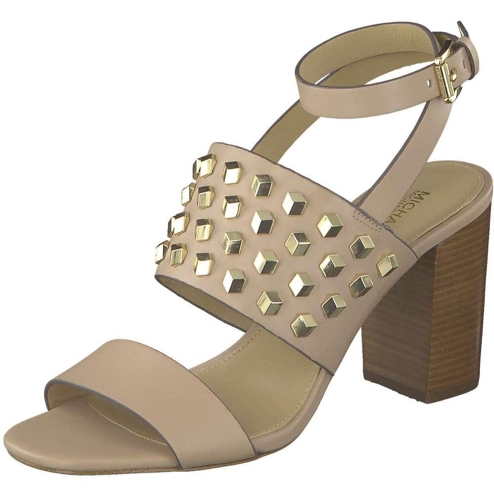 michael kors valencia ankle strap sandale pink reduziert. Black Bedroom Furniture Sets. Home Design Ideas