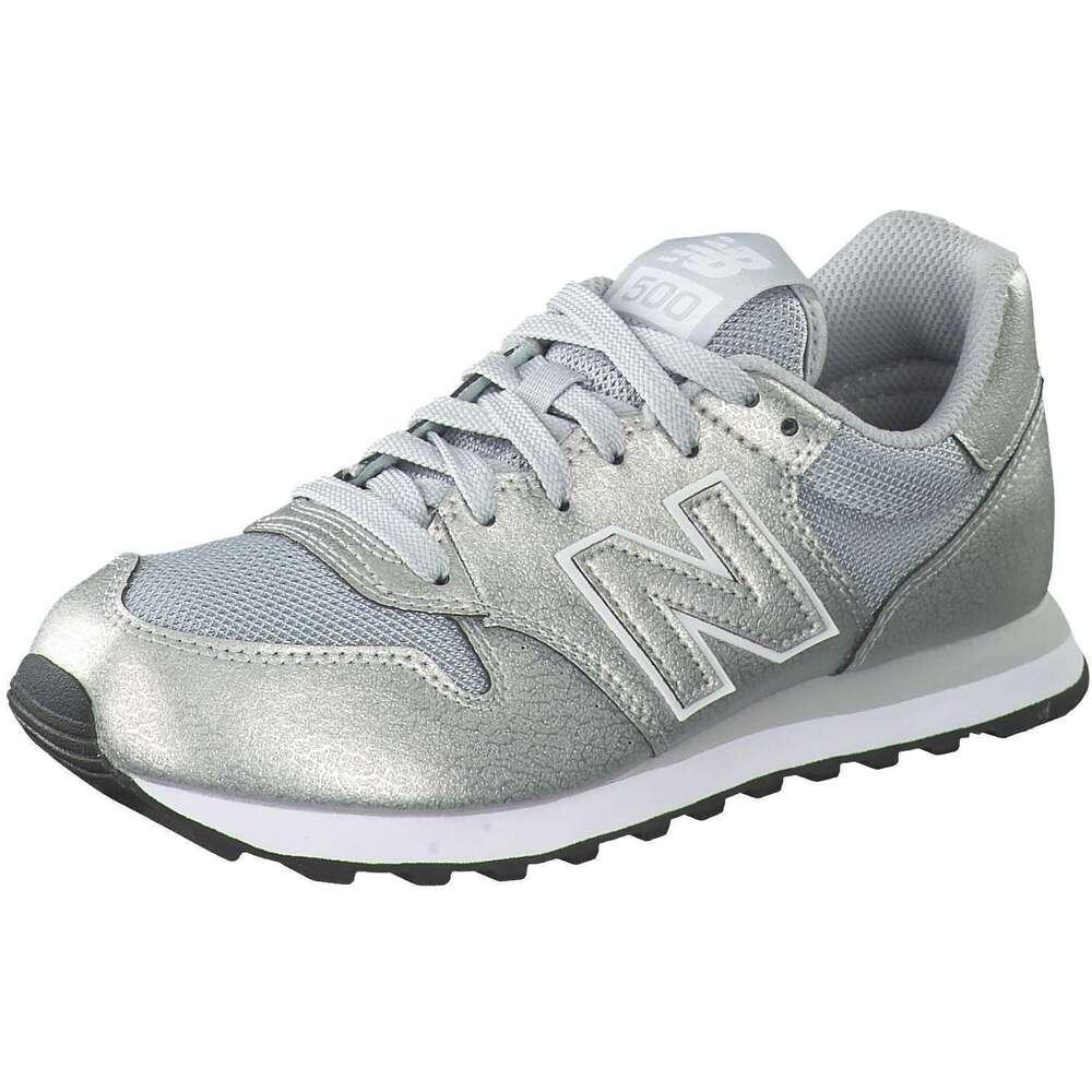 Schuhe Sneaker Sneaker New Balance Damen 500 Sneaker Silber ...