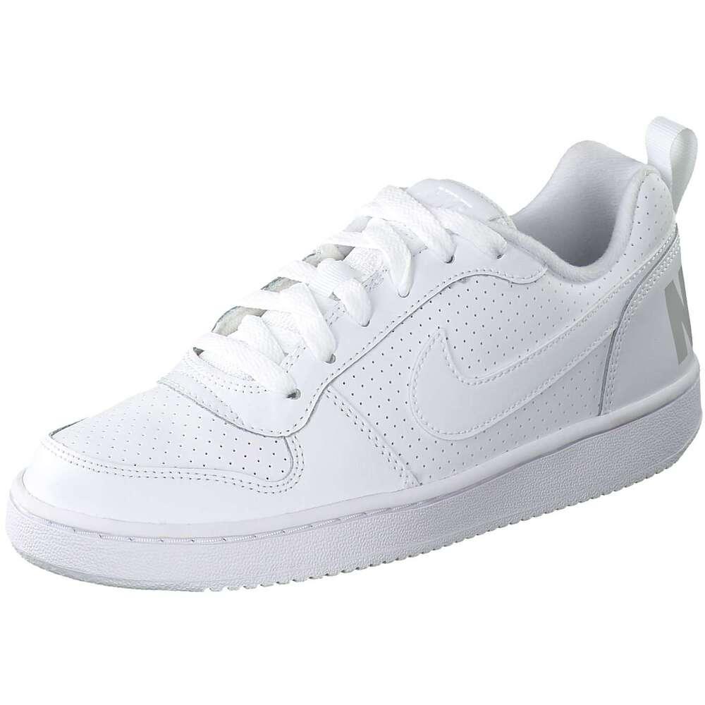 oben Herren Nike Sportswear Court Borough Low Sneaker weiß